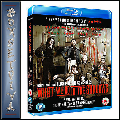 WHAT WE DO IN THE SHADOWS - Jemaine Clement **BRAND NEW BLU-RAY**