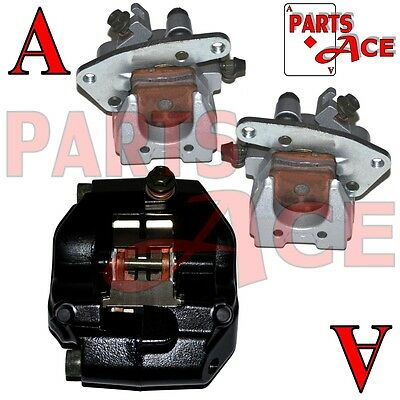 2002 - 2008 Yamaha Grizzly 660 Front Left Right Rear Brake Caliper Pads Assembly