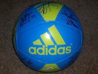 Seattle Sounders Team Autographed Adidas Soccer Ball 2015  COA