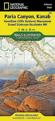 Vermillion Cliffs, Paria Canyon by National Geographic Maps (English) Hardcover