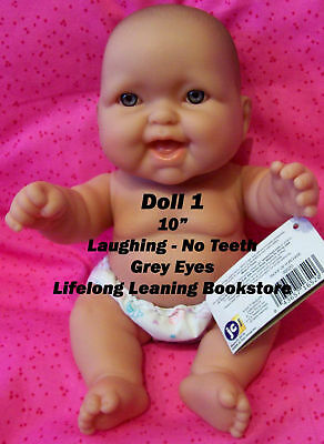 "1 Berenguer Lots to Love 10"" Baby Doll Adorable Expressions Pick Your Favorites!"