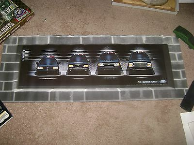 FORD Police Interceptor,Extcurison,Explorer,Expedition,Vehicle Lineup Poster