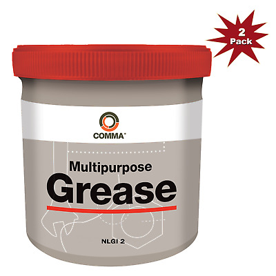 Comma  Multi-Purpose Lithium 500g Grease 2pk