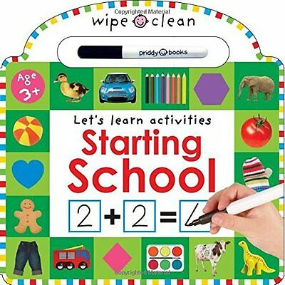 Starting School Roger Priddy Books Board book 9781783411030