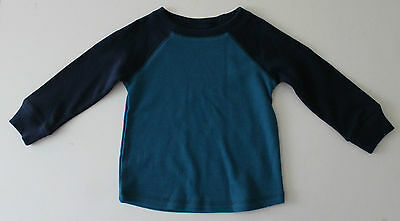 Jumping Beans, 18 Month, Pacific Blue Thermal Shirt, New without Tags