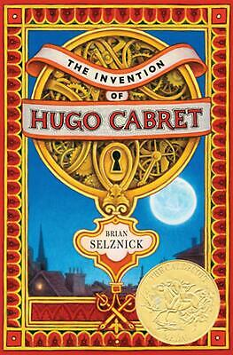 The Invention of Hugo Cabret by Brian Selznick Hardcover Book (English)
