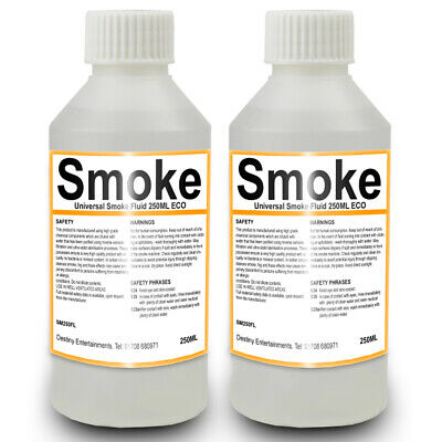 Smoke Fluid Double Pack For Fog Machines Ideal For Dj Disco Parties