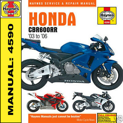 Honda CBR600 CBR600RR 2003-2006 Haynes Workshop Manual 4590 NEW