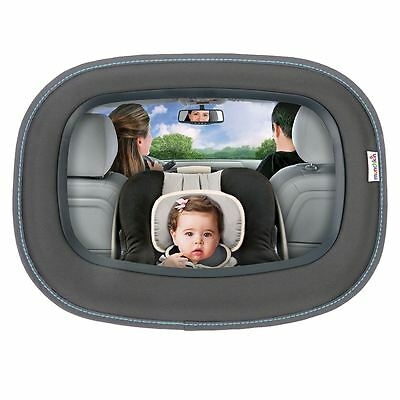 Munchkin In Sight Mirror - Baby/Toddler Car Safety Superior Reflection Mirror