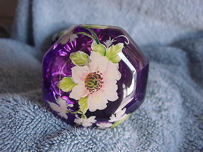 Door Knobs - 2 Knobs -Glass 2.25 Inch- Antique Clear Knobs With My Work