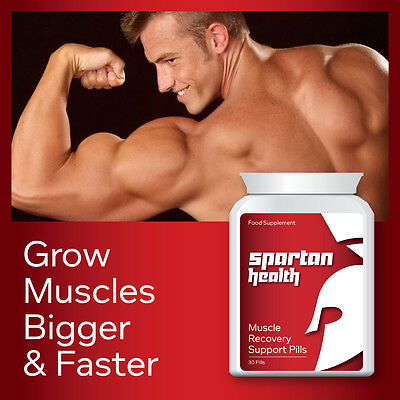 Spartan Health Muscle Recovery Support Pill Grow Muscles Bigger And Faster