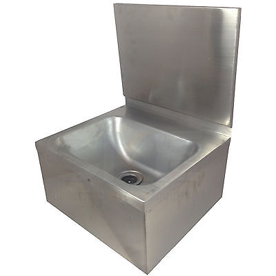 New Commercial Kitchen Cafe Restaurant Hand Wash Sink Basin Stainless Steel
