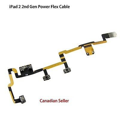 New Power On/Off Volume Control Flex Ribbon Cable Part for Apple Ipad 2 iPAD 2