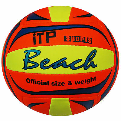 Beach Volleyball Official Size Weight Syenthetic Leather Volly Ball Sports Fun