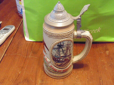 HIGHLY COLLECTABLE VERY RARE  BUDWEISER  BEER STEIN