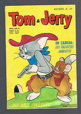 TOM ET JERRY N°37  sagedition 1970