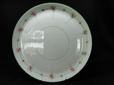 Vintage China Cake Plate Foley Peacock Pottery Art Nouveau Roses