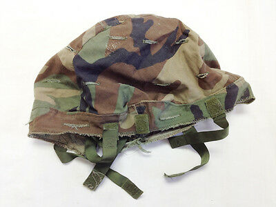 US Military Woodland Camo PASGT Cover Surplus Xsmall/Small
