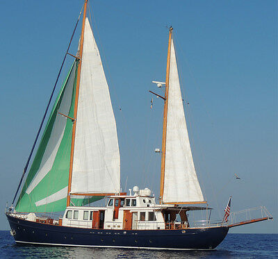 95 FT KETCH  SAILING YACHT