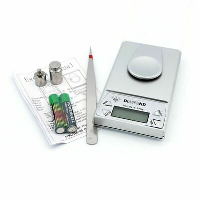0.001g-20g Milligram Digital Jewellery Diamond Kitchen Calibration Weights Scale