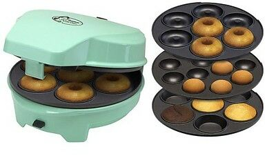 3in1 Cakemaker Bestron ASW238 Donuts Muffins Popcakes Donutmaker Muffinmaker
