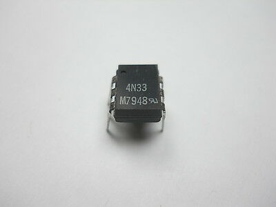 4N33 Optocoupler Darlington NPN Output (QTY 10 ea)O53