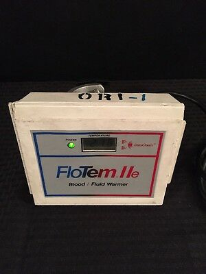 DATACHEM FloTem IIe Blood/Fluid Warmer Type 4 See Description For Condition
