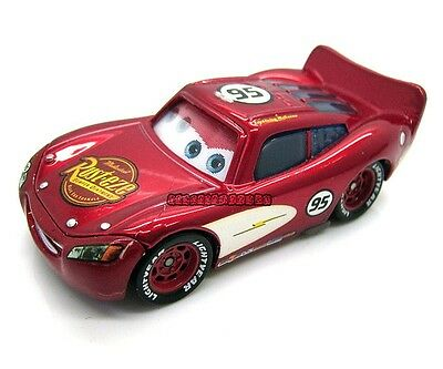 Disney Pixar Movie Cars Diecast Toy Cursin  Lightning Mcqueen Metallic Finish