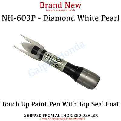 Genuine OEM Honda Touch Up Paint Pen Diamond White Pearl (08703-NH603-PAHA1