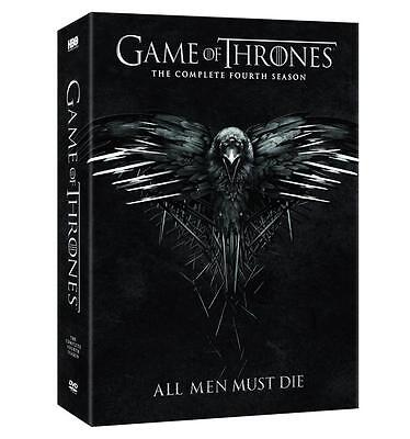 GAME OF THRONES: THE COMPLETE SEASON 4 (DVD, 2015) FREE SHIPPING!!! BRAND NEW!!!