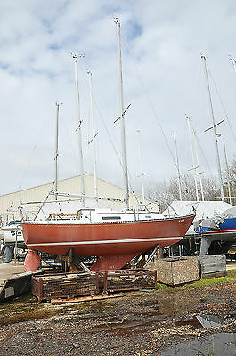 '75 30' C&C 30SL Fixed Keel Sailboat Atomic 30HP Inboard 3 Sails Fully Rigged