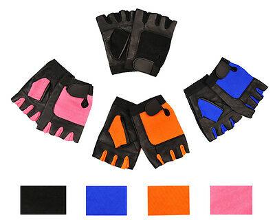 Weight Lifting Leather Workout Gloves For Gym Fitness Wheelchair Gloves
