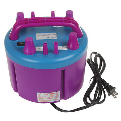 Electric Balloon Pump Inflator with 4 Inflation Nozzles for Parties and Occasion