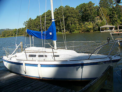 Sailboat, O'Day 25 ft. 1978, Good condition, 9.9 hp Evinrude Freshwater Boat