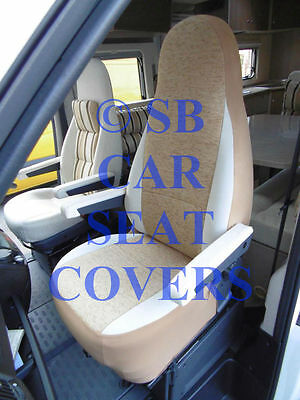 Fiat Ducato Motorhome Seat Covers Mh 517 Henry Brown Aguti 2 Fronts