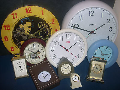 WALL CLOCKS - ALL SIZES AND VARIATIONS - click on the site to chose and order