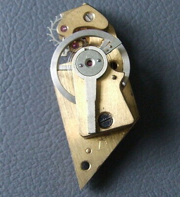 Vintage brass clock balance platform escapement working spares parts