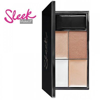 Sleek Makeup Precious Metals Highlight Palette Gold Bronze samtig-weich luxuriös