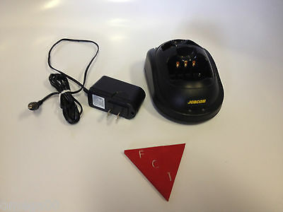 GENUINE JOBCOM BC-JX, Charger, Drop In - Radio Battery Charger With Adaptor