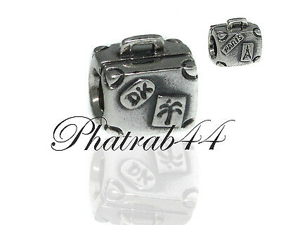 Pandora Sterling Silver Suitcase Bead 790362