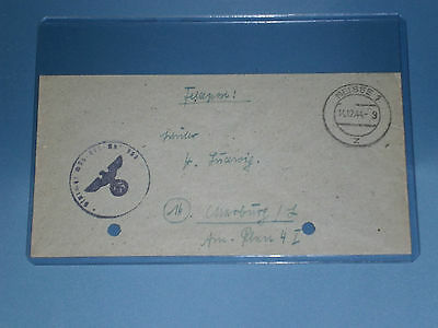 Knights Cross Winner and Tank Ace - Fritz Amling WARTIME signed stationary