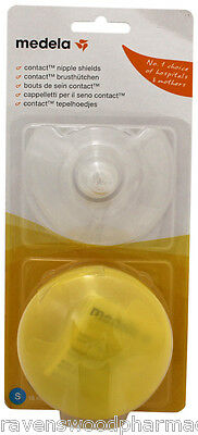 Medela Contact Nipple Shields (2 Pack) :Choose From Small, Medium & Large Sizes: