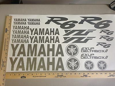 YAMAHA R6 R 6 18 COLORS AVAILABLE DECAL KIT SET HIGH QUALITY STICKERS