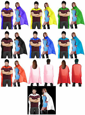 "Vampire Dracula Deluxe Shiny Satin Cape Fancy Dress Free Post 24"", 34"" , 48"" Inc"