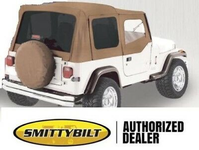 soft top FOR HALF DOORS SPICE replacement top 9870217 88-95 FOR Jeep YJ Wrangler