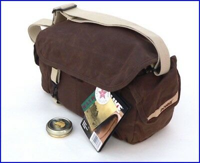 Domke F-2 RuggedWear Waxed Canvas Camera Bag - Made in USA