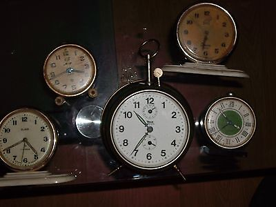 Old Clocks FOR PARTS, ALL MODELS AND LARGE QUANTITIES/5 PIECES/