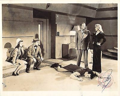 "NOEL NEILL, TOMMY BOND & KIRK ALYN in ""Superman"" Original Vintage Photo 1948"
