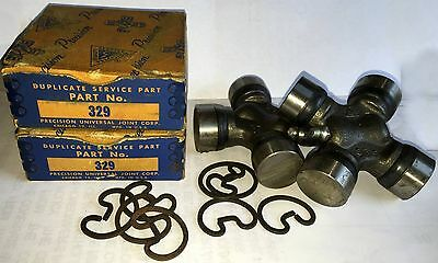 New Vintage Nos Nib Precision Universal U Joint 329,1940'S To 1950'S Era Hot Rod