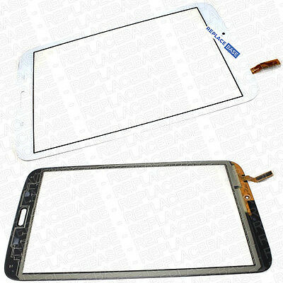 """Touch Screen Digitizer Front Glass For Samsung Galaxy Tab 3 8"""" SM-T310 LCD White"""